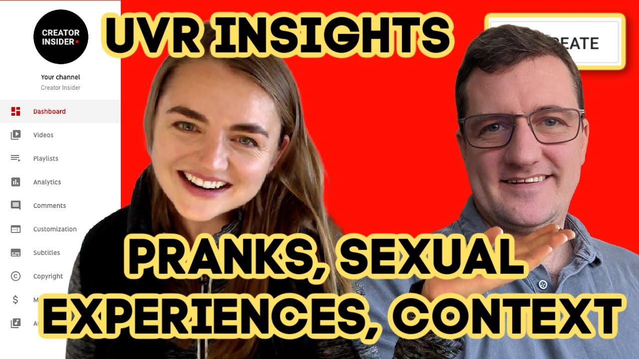 UVR Insights On: Pranks, Sexual Experiences, and the Importance of Context on YouTube!