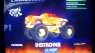 Monster Jam: Maximum Destruction (PS2) ALL HIDDEN TRUCKS!