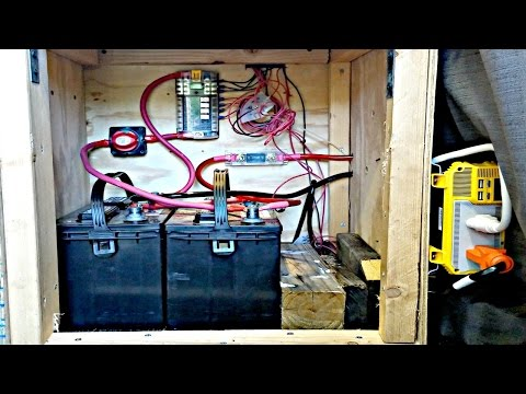 Van Life: Campervan/RV Electrical System Explained - Battery Bank, Wire Gauge, Inverter, Solar ect.