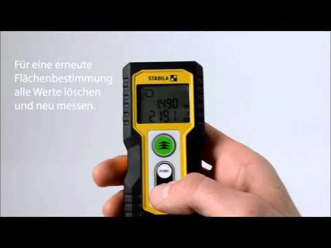 Der neue stabila laser entfernungsmesser ld youtube