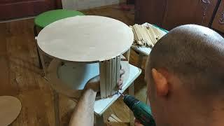 как сделать колесо для белки своими руками
