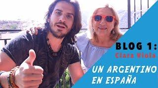 Blog 1: Clara Viola - UN ARGENTINO EN ESPAÑA | Joaquin Castellano