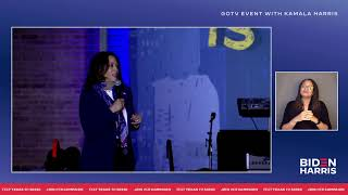 Download lagu LIVE: Get out the vote with Kamala Harris in Houston, TX