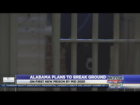 Ivey's administration takes steps for new AL prisons