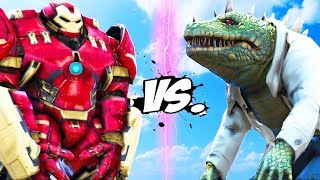 HULKBUSTER VS THE LIZARD (SPIDER-MAN)