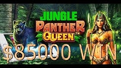 $85000 Win | Jungle Queen | Panther Queen | Slot Machine | Emu Casino