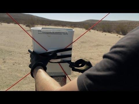 XBox vs C4 filmed at 10 million FPS