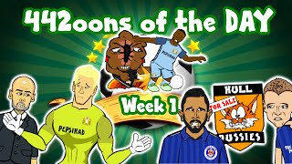Joe Hart Dropped! Hull beat Leicester! Sterling fouled! 442oons of the Day 16/17 - WEEK 1!