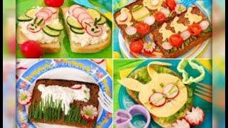 как украсить детские блюда ( подборка )