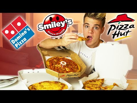 DAS ist die BESTE PIZZA! 🍕😍 - Experiment (Fast Food Duell)