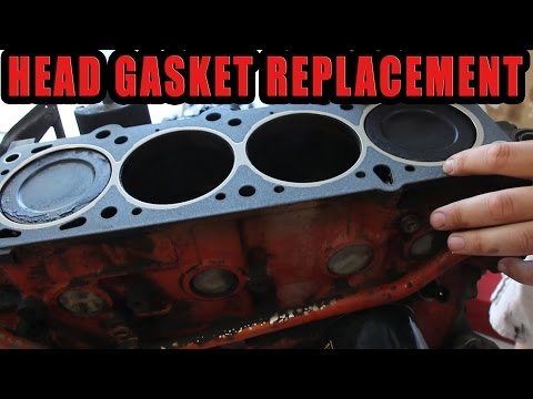 HOW TO REPLACE A HEAD GASKET THE CHEAP BASTARD WAY