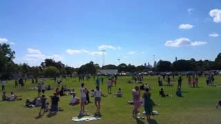 RAAF FA/18 Flyover Australian Grand Prix Day 3 (Full 10 Minutes)