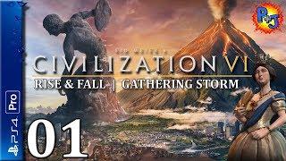 Let's Play Civilization VI PS4 Pro | Victoria England Gameplay Episode 1 | Civ 6 Console Expansions