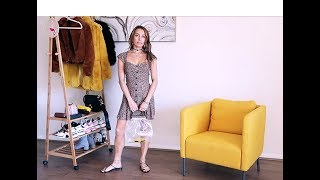 Vlog by CaRolina #3: How To Style    Reformation Sustainable Mini Dress