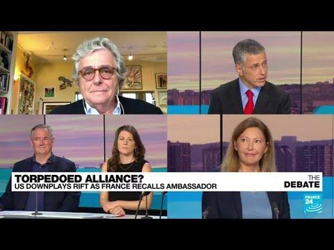 Download Torpedoed alliance? US downplays rift as France recalls ambassador