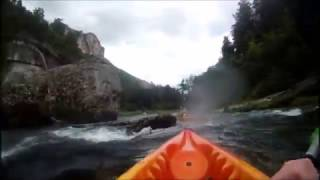 crash accident canoe gorges du tarn