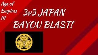 3v3 Japan Bayou Blast! AoE III