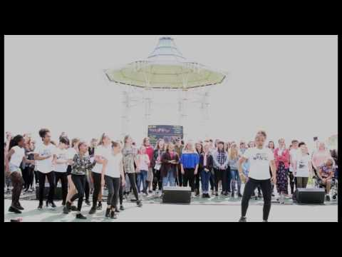 MOST WANTED STREET DANCE PERFORMANCE LIVE AT THE BANDSTAND