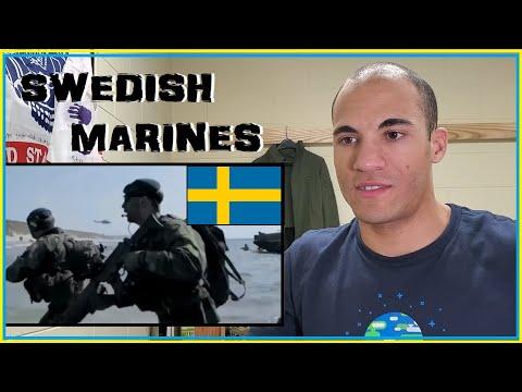 US Marine Reacts to Swedish Marines