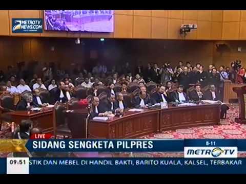 Sidang Perdana Sengketa Pilpres (1)