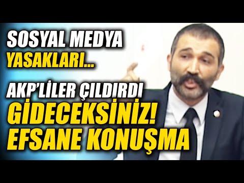 Gideceksiniz! Barış Atay AKP'yi Rezil Etti! Sosyal Medya Düzenlemesi Meclis Konuşması