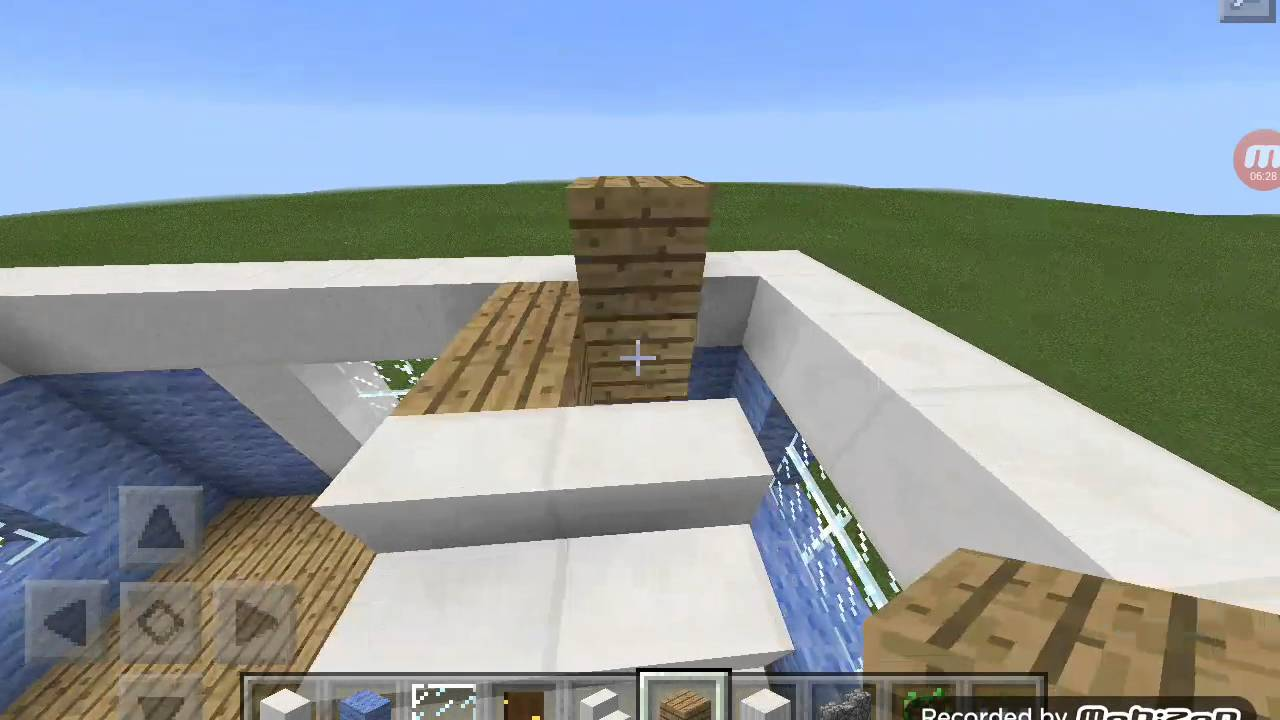 MINECRAFTHow To Make A Modern House With Wool YouTube