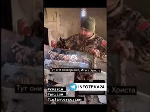 Տեսանյութ.Ինչ հրճվանքով են  զինվորական համազգեստով անձինք Արցախի օկուպացված տարածքներում մտնում եկեղեցի, պատռում սրբապատկերները