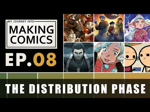 My Journey into Making Comics - Ep.08 - The Distribution Phase