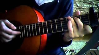Скрябін - місця щасливих людей відеоурок,гітара