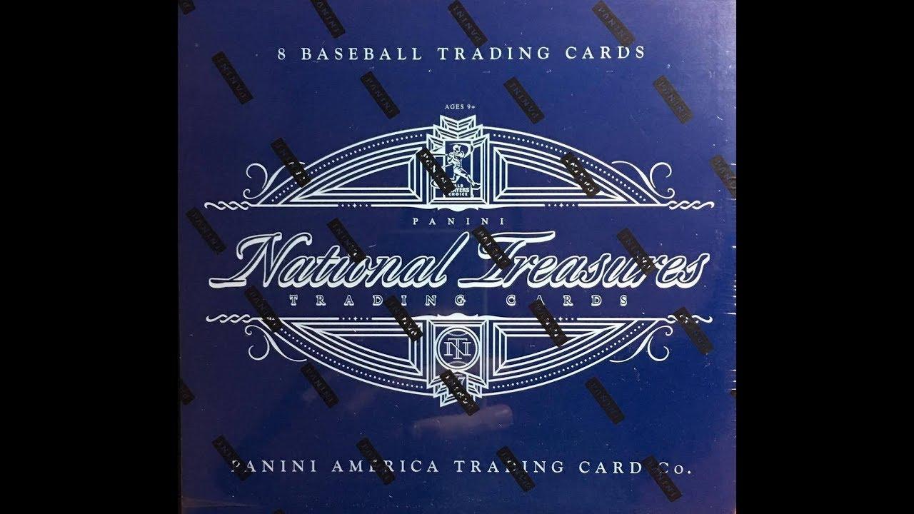 Box Busters 2017 National Treasures Baseball