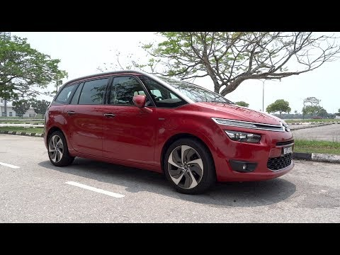 2015 Citroën Grand C4 Picasso e-THP Start-Up and Full Vehicle Tour