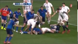 Angleterre / France 2015 (55/35), Les 12 essais du