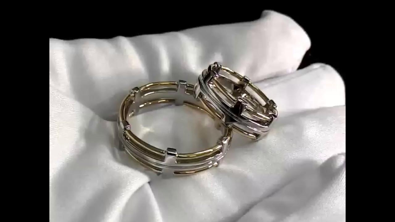 Platinum Lab. Обручальное кольцо из платины с бриллиантами ПК 021 .