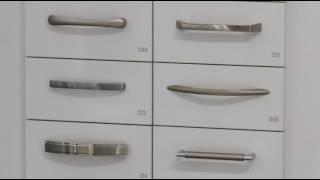 Ручки на кухонные фасады: интегрированные и накладные ручки от Nobilia