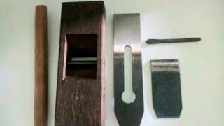 Serut kayu manual 18cm (ketam/unduk)