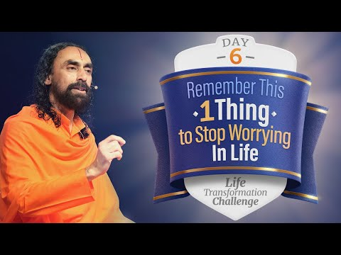 Remember This 1 Thing to STOP Worrying in Life Forever | Day 6 Life Transformation Challenge