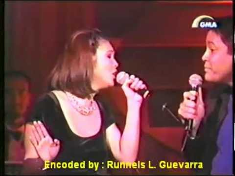 Regine Velasquez and Martin Nievera - You Are My Song (Songbird Sings For The River Special 1999)