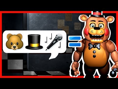 FNAF EMOJI CHARADES! Five Nights At Freddy's Texting Game Challenge