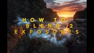 PHOTOSHOP TUTORIAL: Best Method for Blending 2 Images