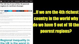 ...If we are the 4th richest country in the world why do we have 9 out of 10 the poorest regions?