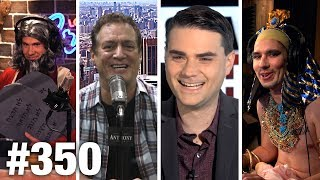 #350 MEDIA BORDER HYSTERIA BULLCRAP! Ben Shapiro and Anthony Cumia | Louder With Crowder
