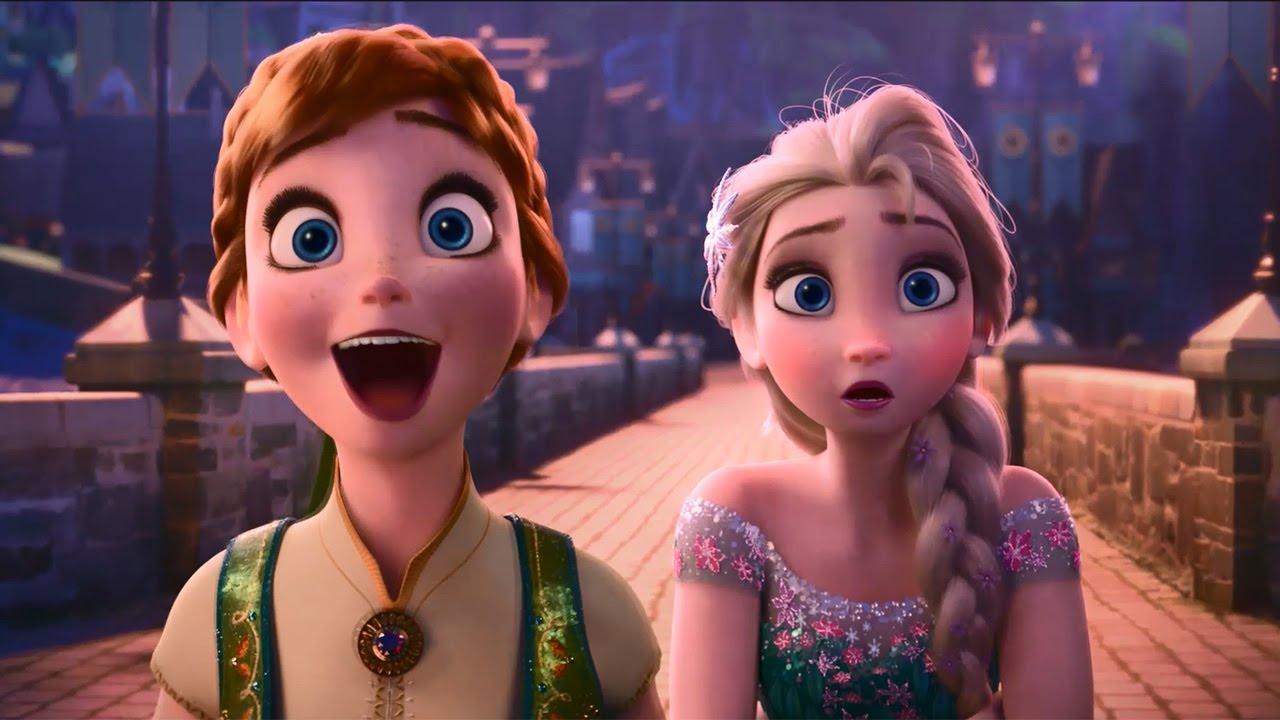 アナ雪 最新作映像が公開 短編映画 アナと雪の女王 エルサの