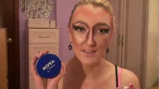 МАКИЯЖ НА КАЖДЫЙ ДЕНЬ! (Make-up tutorial / РЖАКА!!!!!=))