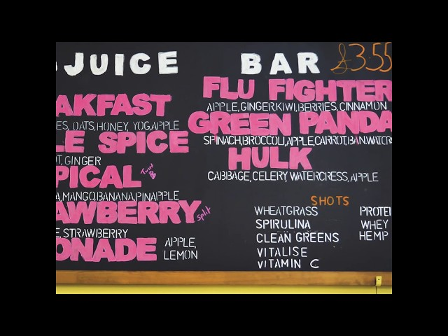 Mini video - Health Matters London Juice Bar
