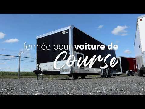 👀 Visitons la remorque pour voiture de course Look Trailers