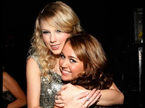 Miley Cyrus and Taylor Swift FIGHTING?