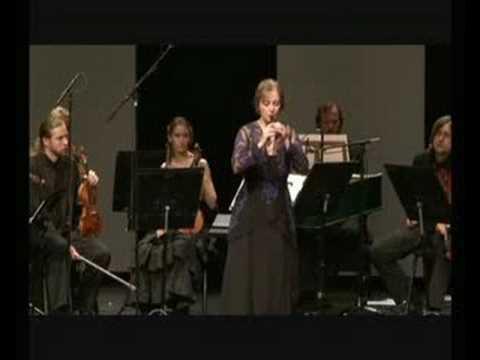 Michala Petri and Kremerata Baltica plays Vivaldi: Recorder concerto 443 3.Movement