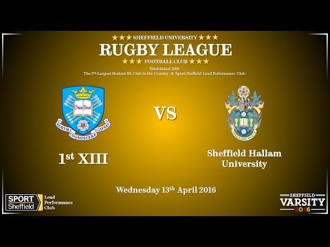 University of Sheffield 1sts vs Sheffield Hallam University - Full match