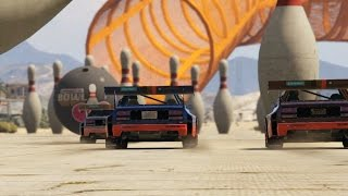 GTA 5: Race With Soccer Balls and Bowling Pins In Cunning Stunts DLC - IGN Plays