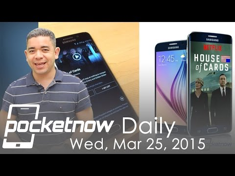Galaxy S6 Netflix deal, HTC One M9+ invite, iOS 8.3 change & more - Pocketnow Daily - 동영상